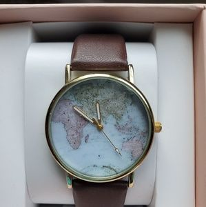 Women's world hand watch